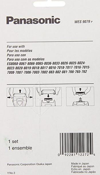 Dao cạo râu  Panasonic wes9079p đàn ông trong lưỡi dao cạo điện thay thế lá bên ngoài.