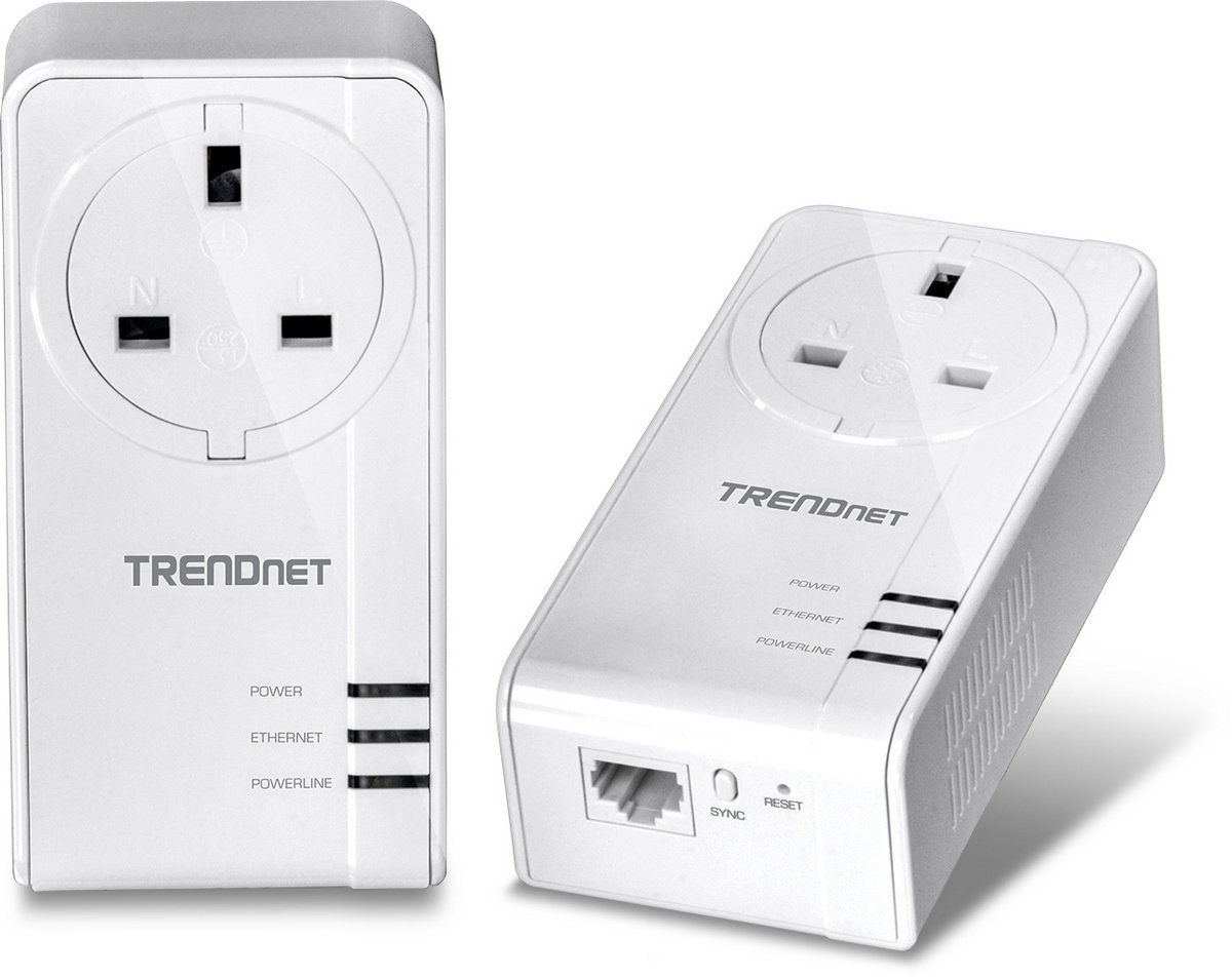 Adapter Powerline TRENDnet TPL-421E 1200 AV2 (1 bộ 2 cái)