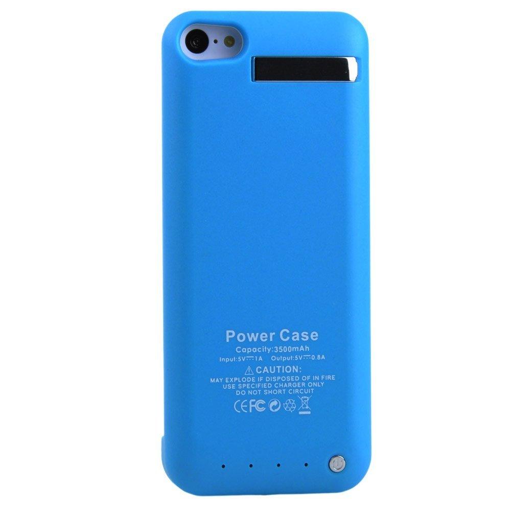 IPhone5s, iPhone5, 5c chung lưng gọi động táo 5S clip pin điện sau lưng điện (màu xanh).