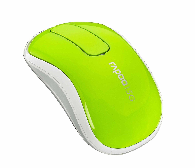 Chuột vi tính Rapoo ray Bách T120P chuột không dây (xanh bánh xe siêu thông minh chống nhiễu tín hi