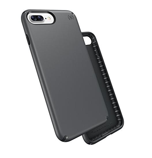 bao da điện thoại  Trường hợp sản phẩm iPhone 7 đốm pháo đài và than chì màu xám / xám đen.