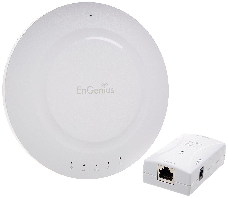 Modom Công nghệ ENGENIUS. Phạm vi AP không dây với Gigabit PoE Injector (n-eap600 Kit)