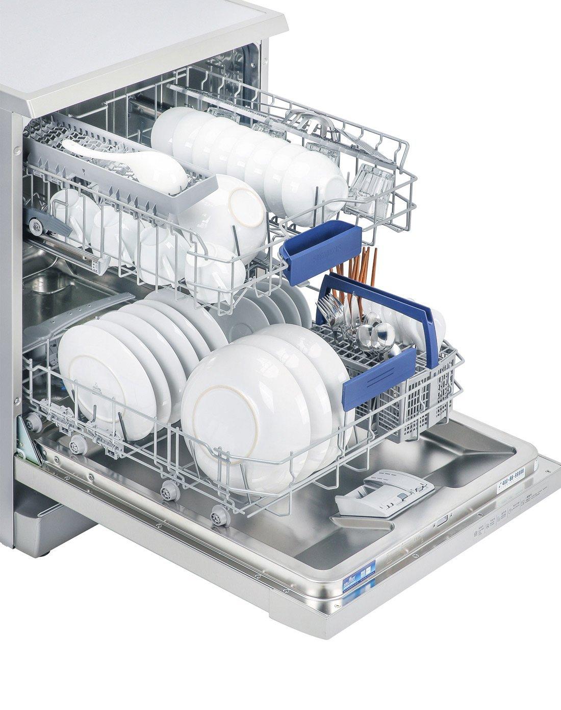 Máy rửa chén Siemens Siemens 13 bộ import máy rửa bát sn23e831ti mẫu độc lập: Siemens hộp công cụ ba