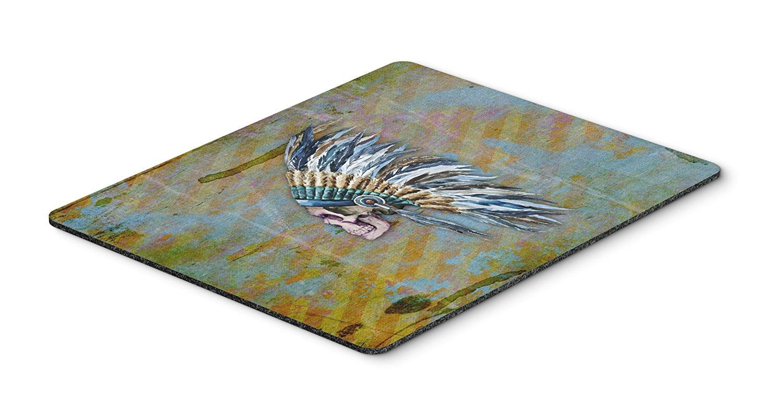 Thảm lót chuột Caroline trên bàn của phong cách nghệ thuật Mousepad, versicolor, 7.75x9.25 (bb5128m