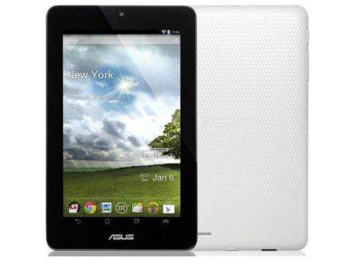 Máy tính bảng ASUS MeMO Pad 7-Inch 16 GB Tablet trắng.