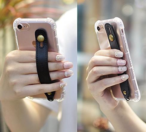bao da điện thoại  Nhật Bản HANATORA hoa sáng tạo mang hổ T6 series cổ tay chống rụng đầy vỏ táo 7