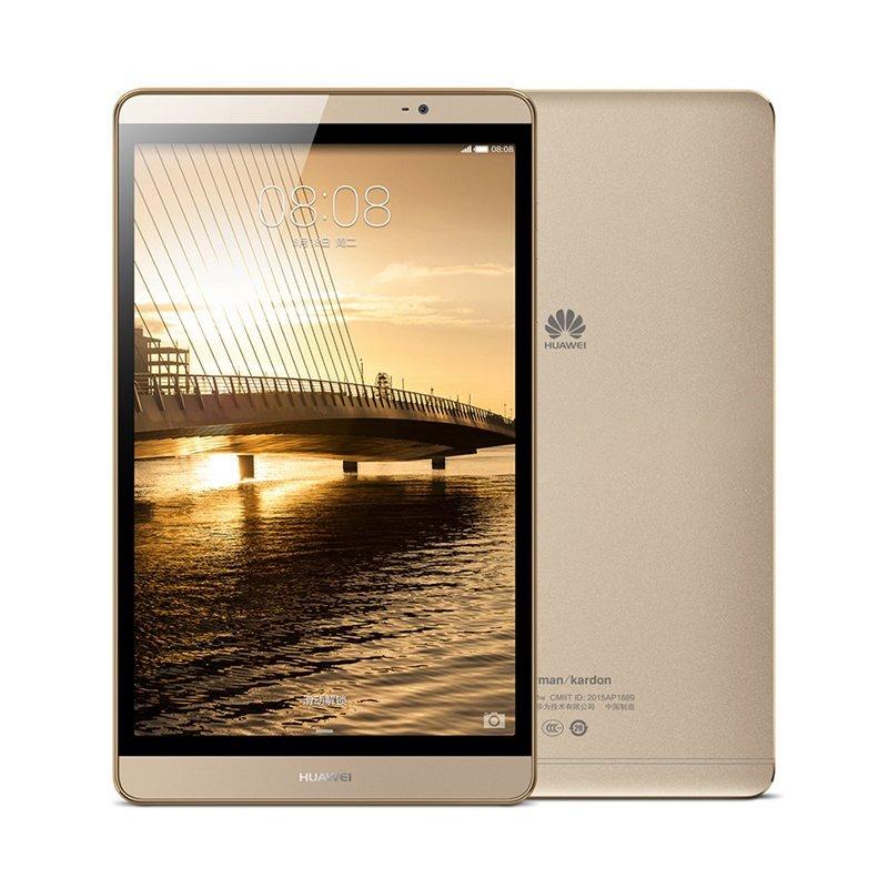 Máy tính bảng HUAWEI Huawei m2 8 inch máy tính bảng 32GB sâm - banh vàng (Wi - Fi Edition)