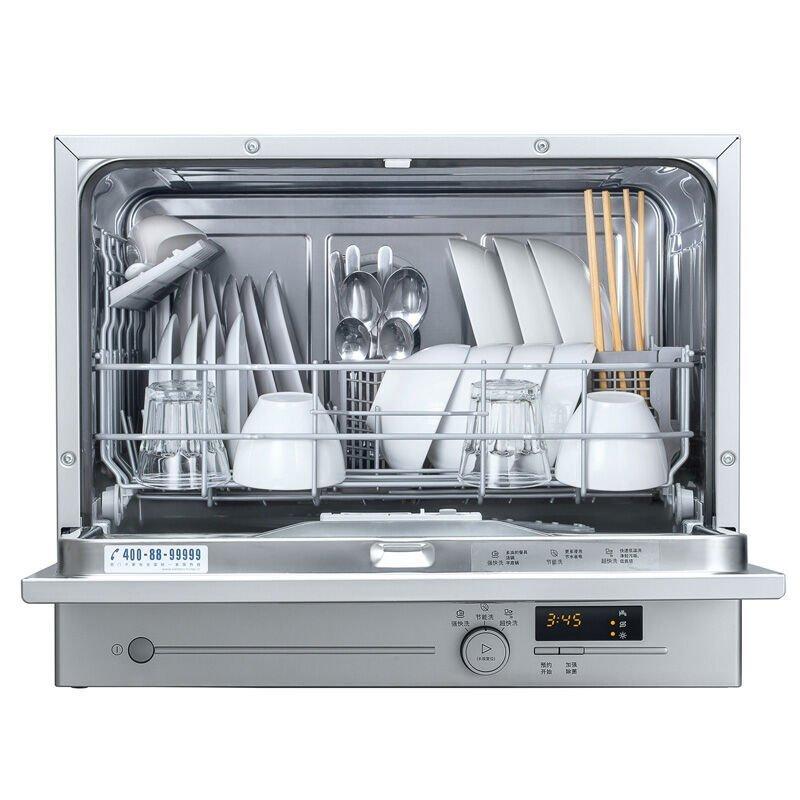 Máy rửa chén  SIEMENS Siemens SK23E810TI rửa bát gia dụng tự động hoàn toàn máy rửa chén bạc.