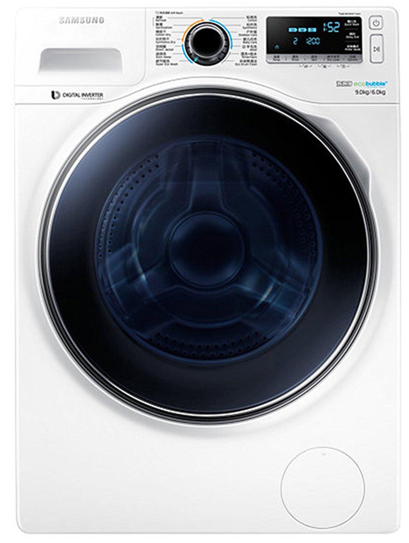 Máy giặt SAMSUNG Samsung WD90J7410GW/SC 9kg sấy khô một con lăn máy giặt (màu trắng)