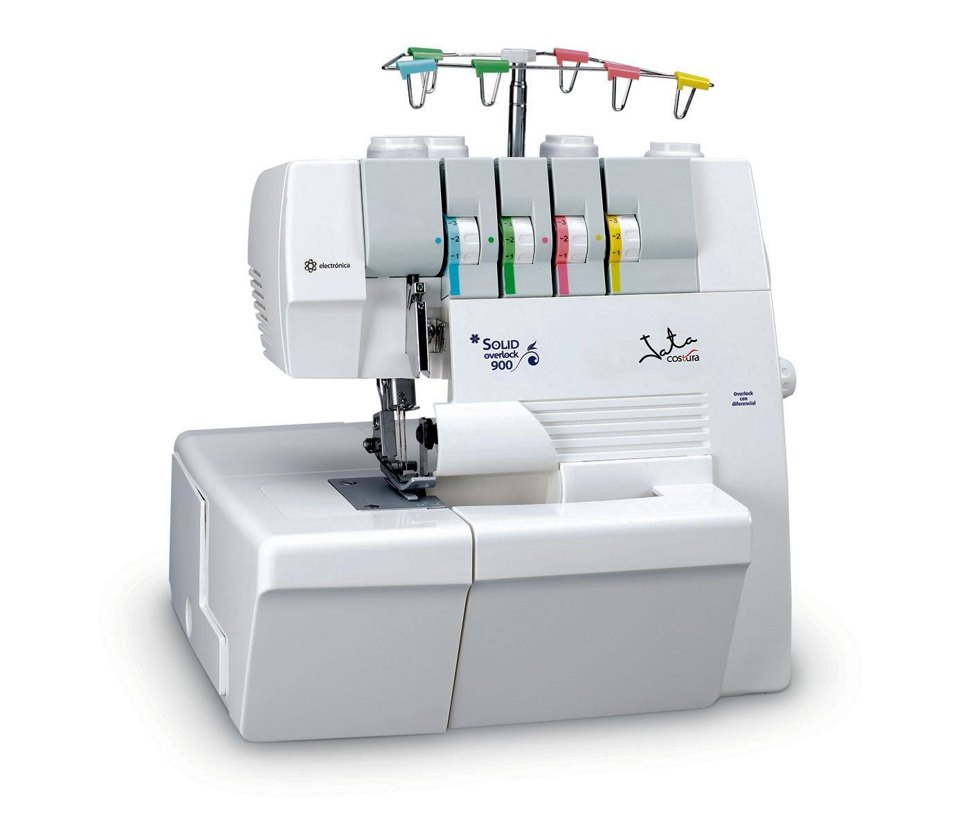 Máy may    Jata 29 X 26 x 30 cm Solid Overlock 900 Sewing Machine, White.