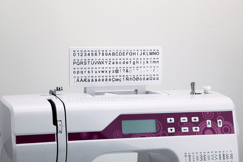 Máy may    Jata 40 x 18 x 29 cm Supra 823 Sewing Machine, White.
