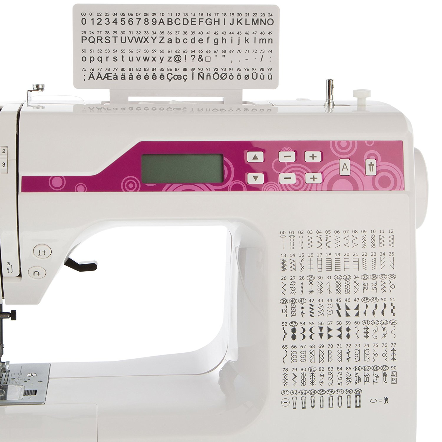 Máy may   Levivo Free Arm Sewing and Overlockmaschine NC1 with Computer Programming