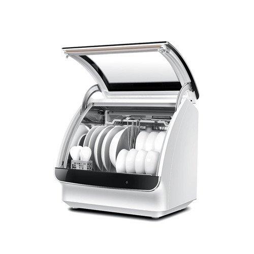 Máy rửa chén Haier Hale HTAW50STGB gia dụng nhỏ 6 bộ máy rửa chén dĩa khử trùng hoàn toàn tự động B