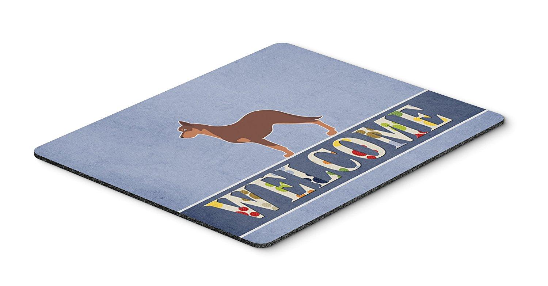 Thảm lót chuột Caroline kho báu của Australia Karby chó chó chào mừng Mousepad, nóng pad hay tam gi
