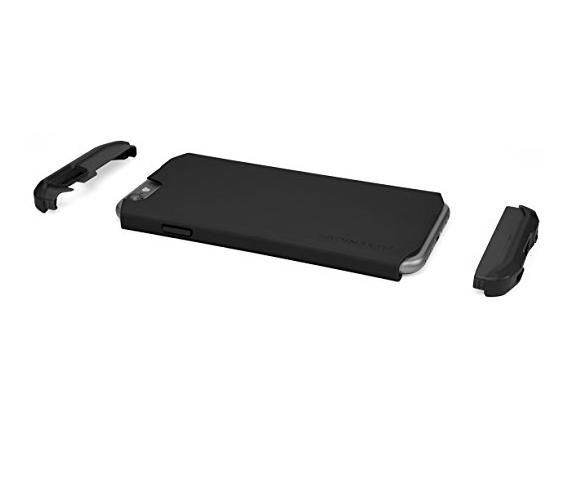 bao da điện thoại  IPhone 6 /6 - phi thực hiện gói bán lẻ của nguyên tố hợp màu đen.