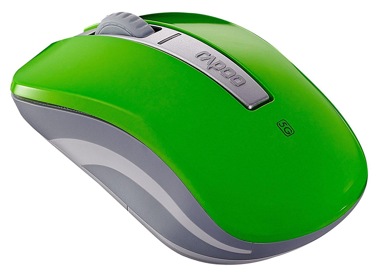 Chuột vi tính Rapoo ray Bách M330 5G Quang chuột không dây xanh.
