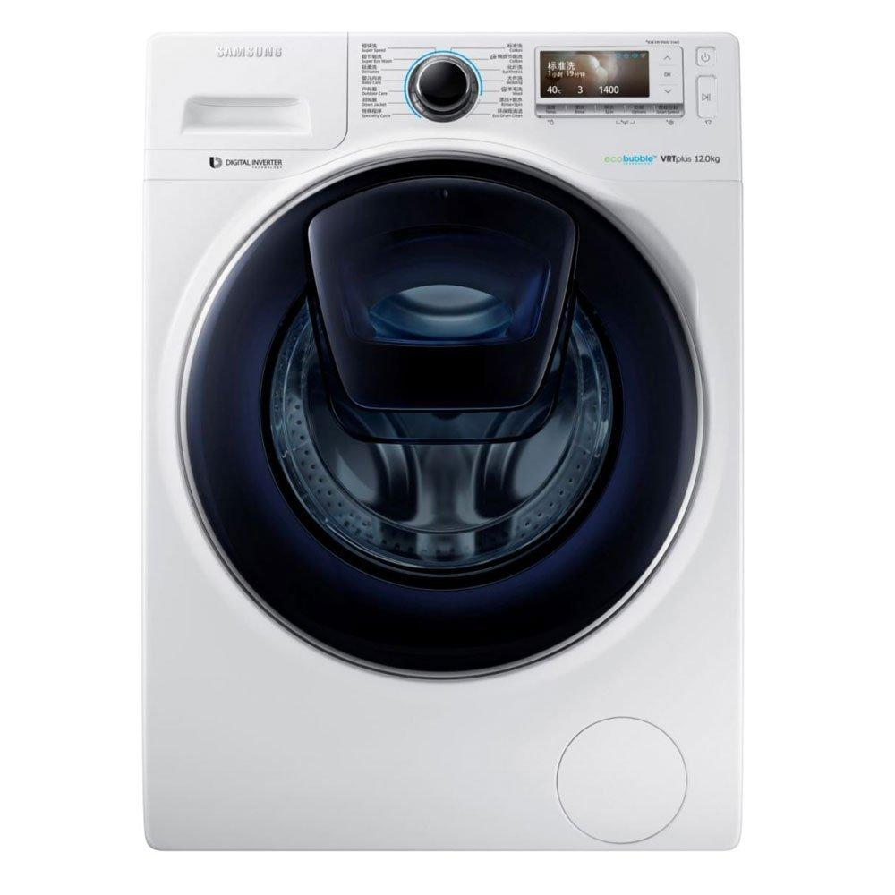 Máy giặt SAMSUNG Samsung WW12K8412OW/SC 12 kg, con lăn máy giặt tự động hoàn toàn.