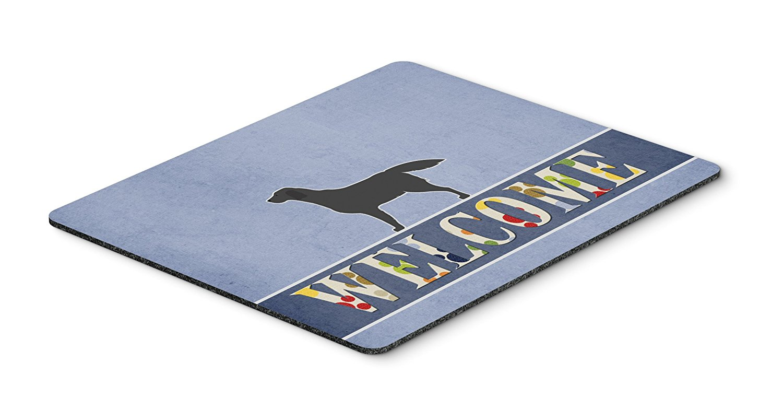 Thảm lót chuột Kho báu của Caroline, màu đen, con chó Labrador mừng Mousepad, nóng pad hay tam giác