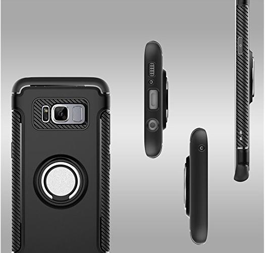 bao da điện thoại  Ostian Tiya Samsung S8 vỏ điện thoại di động Samsung g9500 bộ g9508 bảo vệ Bộ Xâ
