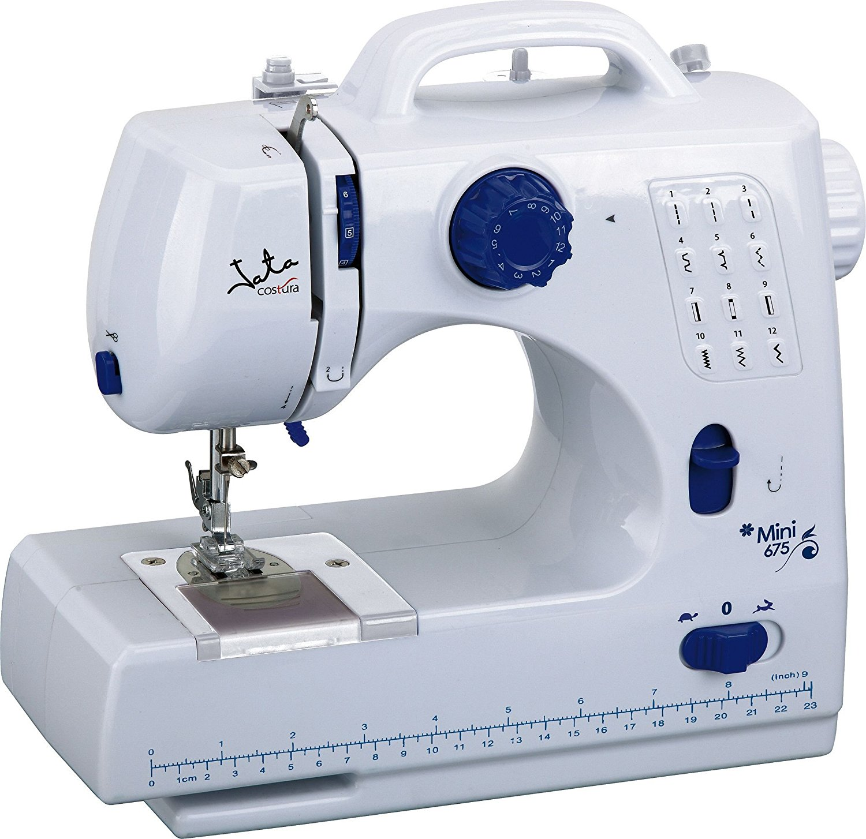 Máy may    Jata 30 x 12 x 28 cm mini 675 Sewing Machine, White.