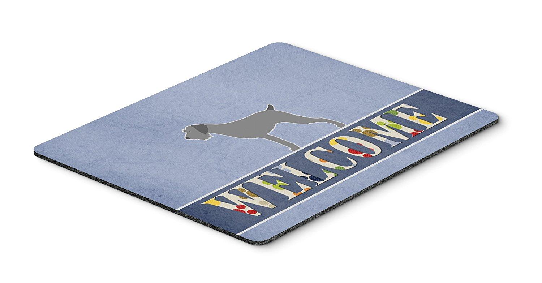 Thảm lót chuột Kho báu của Caroline Mousepad, chó lông Đức hoan nghênh nhiệt pad hay tam giác, vers