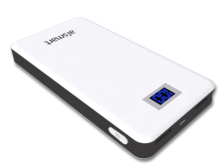 Kỹ thuật số aismart yêu A50 polymer 5000mah Portable chuyển điện thoại / sạc bảo đôi xuất USB áp dụn
