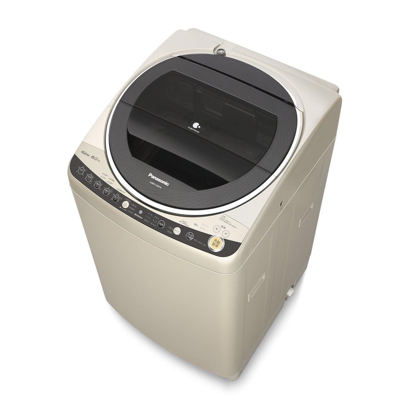 Máy giặt Panasonic Panasonic 8kg tự động hoàn toàn thay đổi tần số máy giặt công suất lớn XQB80-GD8