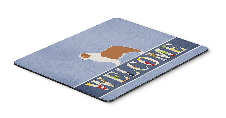 Thảm lót chuột Caroline kho báu của Úc, chó chăn cừu. Chào mừng Mousepad, nóng pad hay tam giác, ve