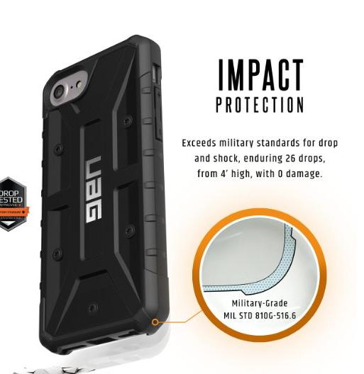 bao da điện thoại  Đây iphone7 4.7 inch phòng rơi điện thoại vỏ bảo vệ bộ áp dụng cho Apple iphone7
