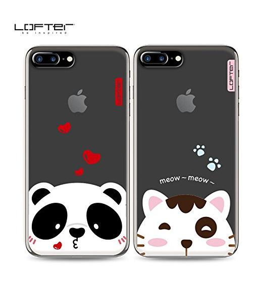 bao da điện thoại  Looft iphone6s điện thoại vỏ táo 6 nữ: shell silica gel siêu dễ thương hoạt hình