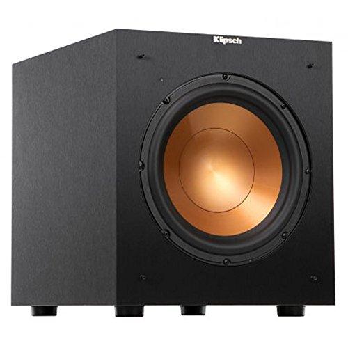Cinema gia đình mạch nguồn tham khảo R-10SW 25.4cm300 watt năng lượng âm bass pháo (đen)