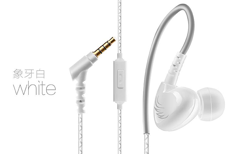 Cosonic W1 nghe lọt tai loại tai nghe <font color='red'>điện thoại</font> con chíp âm bass nặng chạy treo tai bịt tai lại đưa