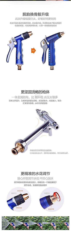 Bộ dụng cụ rửa xe súng phun và ống dây R.H