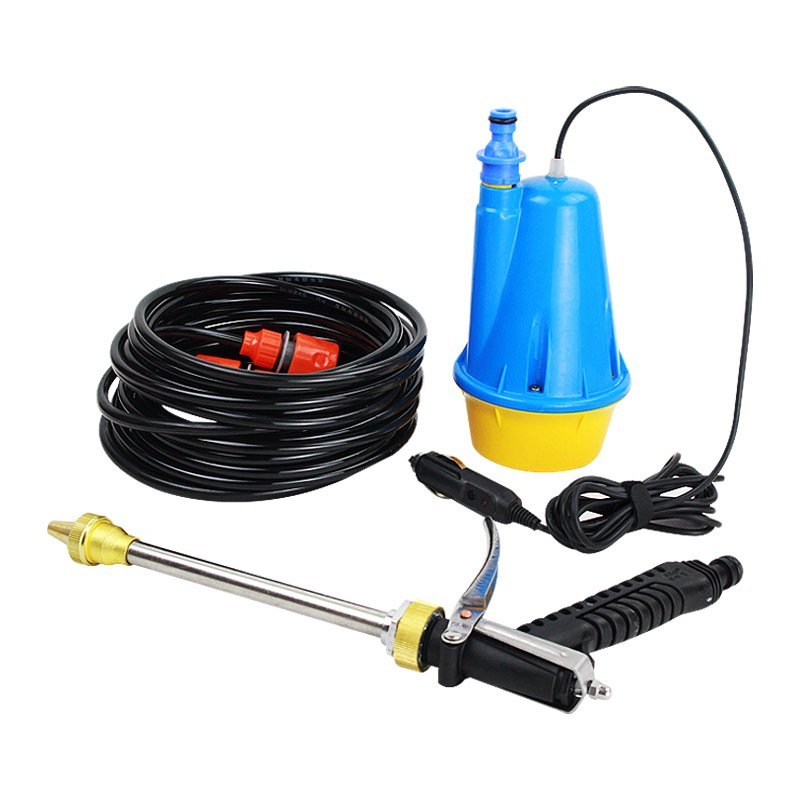 May rua xe Mei Ling 12V car washing machine, electric portable car washer, 220V high-pressure water