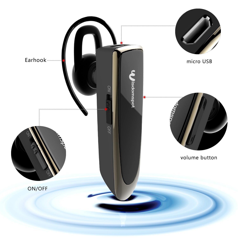 Wisdom spot Sự khôn ngoan bt621b chỗ ấm tai nghe Bluetooth không dây, Fort - những cảnh AIRtime tiến