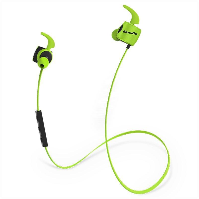 Bluedio Dây xanh te (Turbo series) Bluetooth không dây tai nghe micro - built in 4.1 thể thao điện n