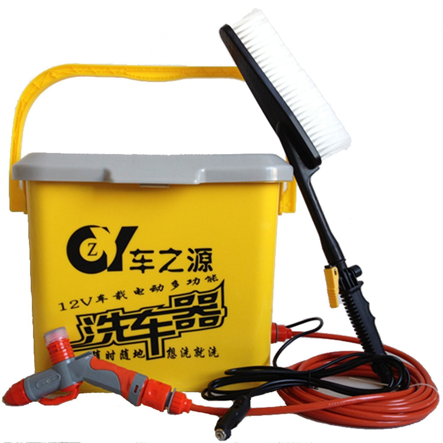 May rua xe The car is the source of high pressure spray foam gun protection paint wash machine porta
