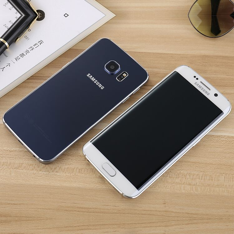 Samsung / Samsung Galaxy S6 Edge sm-g9250 cả 4G Quốc được khúc màn hình <font color='red'>điện thoại</font>