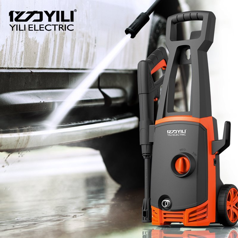 May rua xe Million force YILI household car washer high-pressure cleaning machine YLQ4430-100C Stand