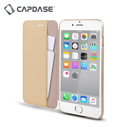 CAPDASE Capdase apple 6S iPhone6S leather flip phone protection cover business fashion card slot