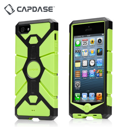 Capdase/ Capdase iPhone5/5s/se mobile phone shell Apple silicone all inclusive anti metal shell