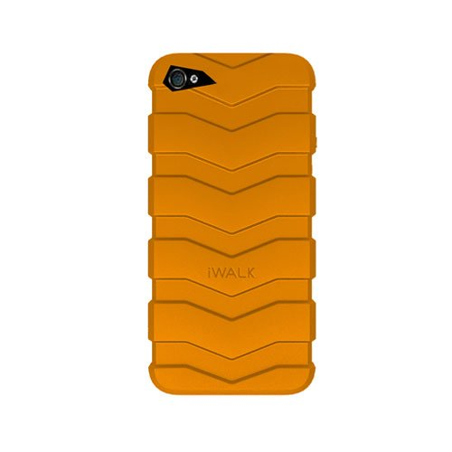 IWALK BCT001i5 Aiwoke sub surface lines for iPhone tire protection shell 5/5S/SE yellow stone