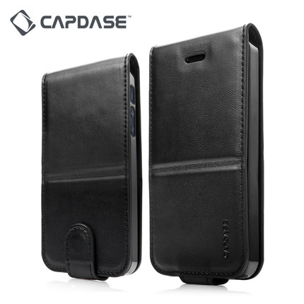 Capdase Capdase mobile phone shell top and down clamshell leather iPhone5/5s/SE all inclusive anti f