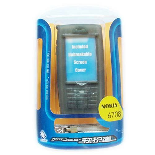 Bộ case silicone CAPDASE dành cho <font color='red'>điện thoại</font> NOKIA 6708