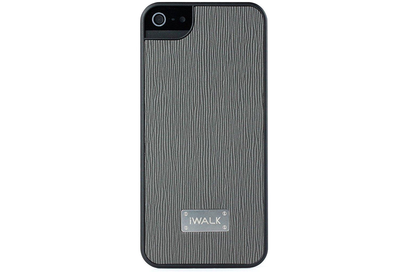 IWALK BCL001i5 Aiwoke leather protective shell for iPhone 5/5S/SE (fine grain toothpick + black shel