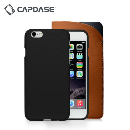 Capdase/ Capdase apple 6iPhone6 semi transparent silicone matte all wrapped mobile phone shell 4.7 a