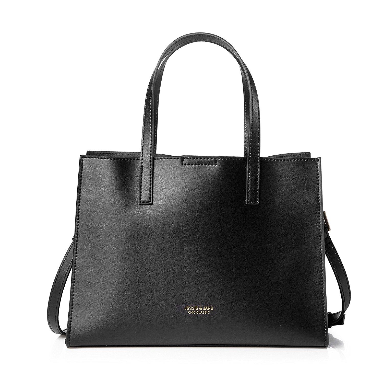 Túi xách da màu đen JESSIE & JANE