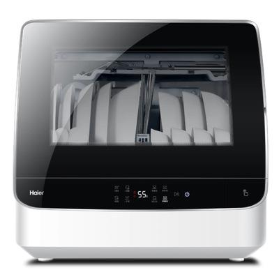 Haier dishwasher HTAW50STGB high temperature sterilization, fully automatic installation, household