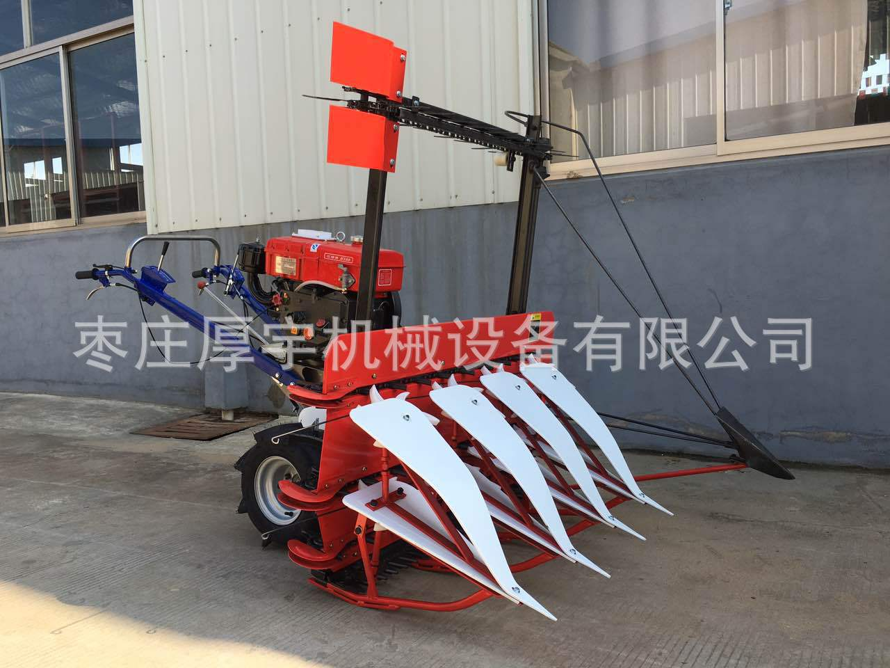 may vot Hand pushing alfalfa mower, Hebei monopoly harvester, 2017 new chili picker