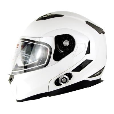 Spot motorcycle Bluetooth helmet BM2-S outdoor riding double lens exposed helmet built-in Bluetooth